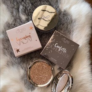 Ciate setting powder and highlighter